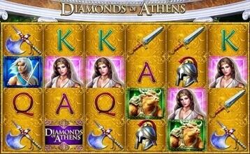 Diamonds of Athens Casino Tragamonedas Revisado en Línea